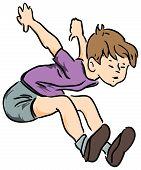 Boy Jumped