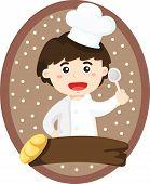 Illustration of Little chef