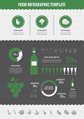 Alcohol Infographic Elements.