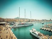 The old sea-port of Marseille. France