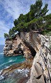 Petrovac rock coast