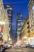 Street Of San Francisco, California, Usa