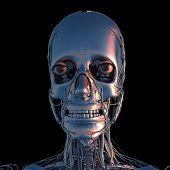 Metal Head In Chrom