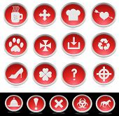 Miscellaneous Icon Buttons
