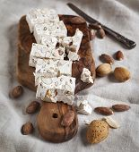 Traditional Nougat With Almonds