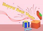 Happy New Year giftbox
