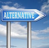 alternative choice, choose different options underground music or movement