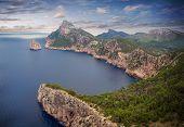 Cap de Formentor in Mallorca island