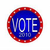 Vote 2010 Button