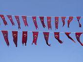 Turkish Flag Hanging