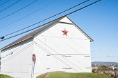 Mennonite red star.