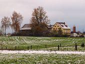 Onset Of Winter In Switzerland