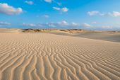 Waves On Sand Dunes  In Chaves Beach Praia De Chaves In Boavista Cape Verde - Cabo Verde