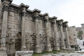 foto of parthenon  - A wall in Greece, part of the Parthenon ** Note: Visible grain at 100%, best at smaller sizes - JPG