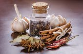 picture of bay leaf  - garlic - JPG