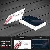 foto of visitation  - Business card or visiting card template - JPG