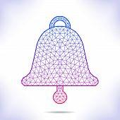 picture of interpreter  - Geometric bell - JPG