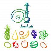 image of hookah  - Illustration hookah tobacco taste different - JPG