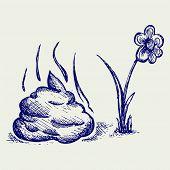picture of feces  - Feces cartoon - JPG