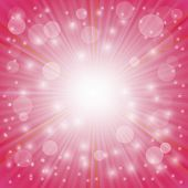 stock photo of star shape  - Pink Background - JPG