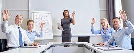 stock photo of waving hands  - business - JPG