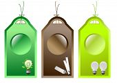 Abstract recycle tags
