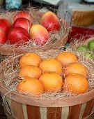 Frutas frescas en el mercado