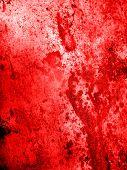 red old grunge background for design work