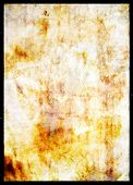 Grunge burnt paper background