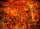 grunge rusty abstract background, yellow and red