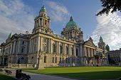 Evening At Belfast City Hall