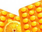 Vitamin C conceptual background
