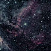 The Carina Nebula Is A Large Bright Nebula. poster