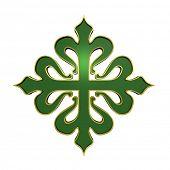 picture of calatrava  - The cross of Calatrava - JPG