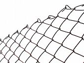 Metal Wire Mesh Security Fence