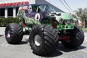 The famous monster truck Grave Digger