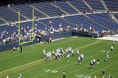 Qualcomm Stadium in San Diego, California, home of the Chargers professional football team. Image ta