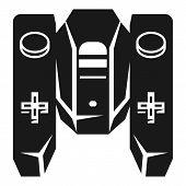 Large Quad Remote Control Icon. Simple Illustration Of Large Quad Remote Control Icon For Web Design poster