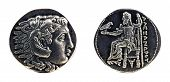 Greek Silver Tetradrachm From Alexander The Great