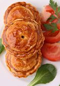 appetizer, baked puff