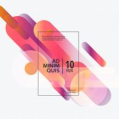 Vector Illustration Dynamic Composition With Motion Design And Diagonal Rhythm poster
