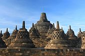 foto of arjuna  - Architecture Borobudur Temple Stupa Ruin in Yogyakarta Java Indonesia - JPG