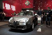 Bruselas, Auto Expo Motor Alfa Romeo Mito