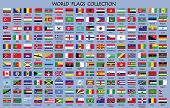 World Flag Collection,world Flag Collection With Names.world Countries Flags With Country Names.worl poster