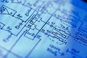 Electronics schematic