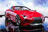Lexus Lf-c híbrido conceito