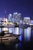 San Diego Harbor At Night