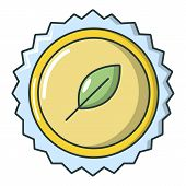 Refreshing Drink Cap Icon. Cartoon Illustration Of Refreshing Drink Cap Icon For Web Isolated On Whi poster
