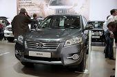 Brussels, Auto Motor Expo Toyota Rav4
