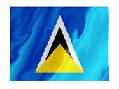 Saint Lucia Fluttering